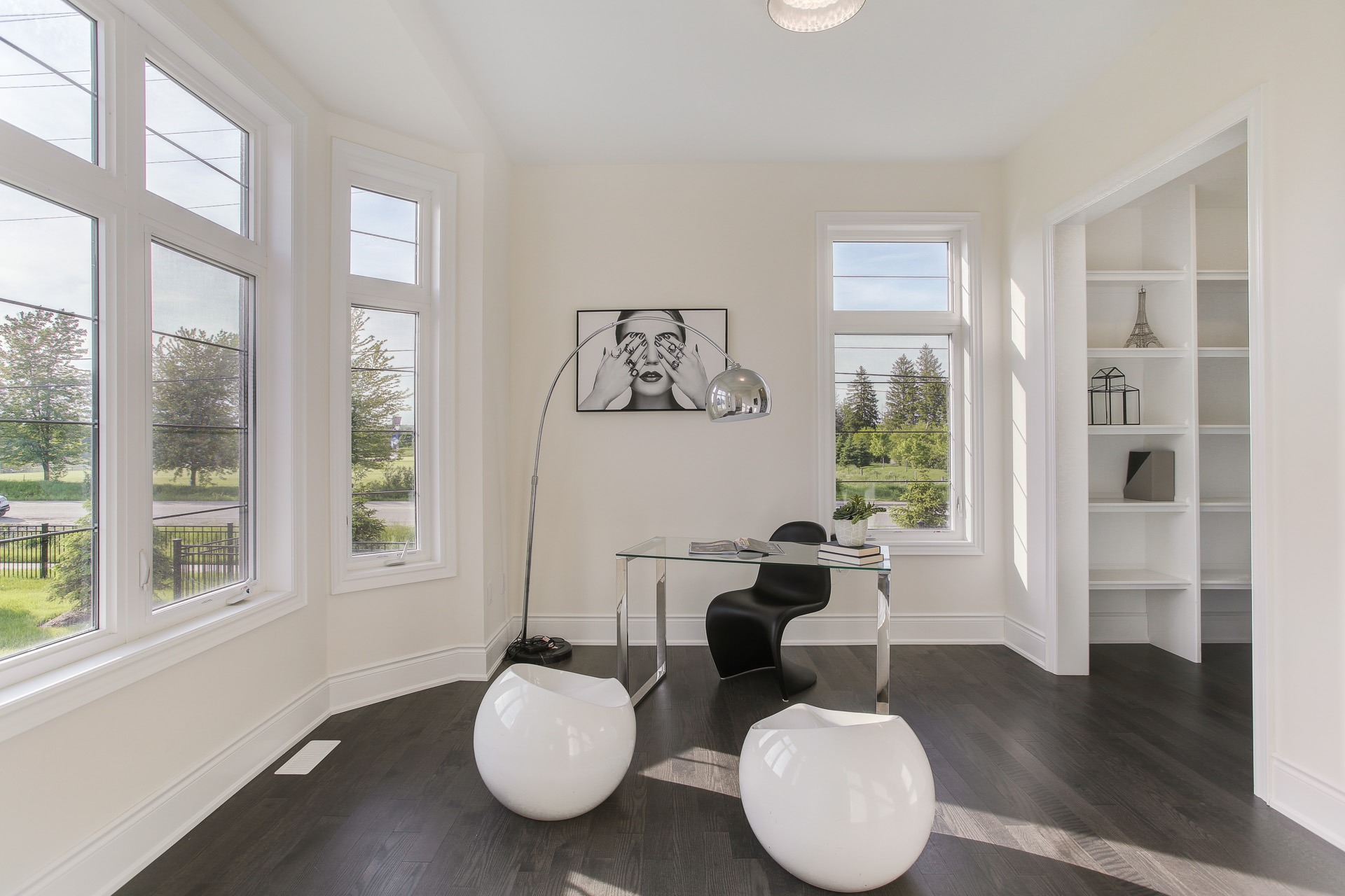 Black & white Property Styling King City